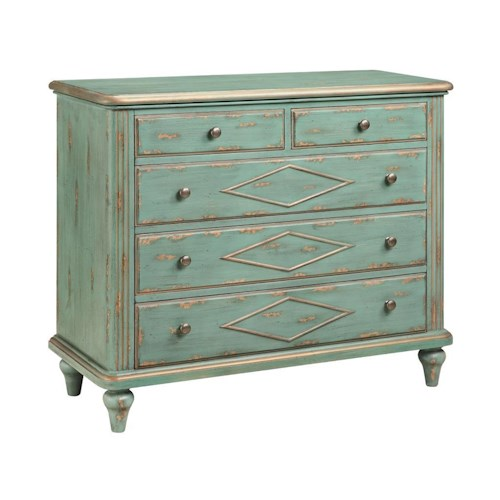 Morris Home Furnishings Cabinets 5-Drawer Cabinet