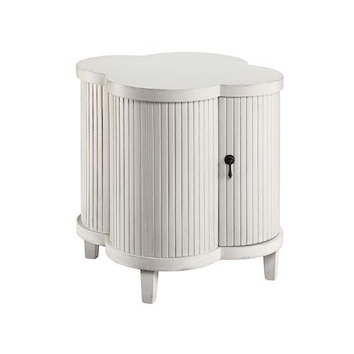 Morris Home Furnishings Cabinets Quatrefoil Cabinet