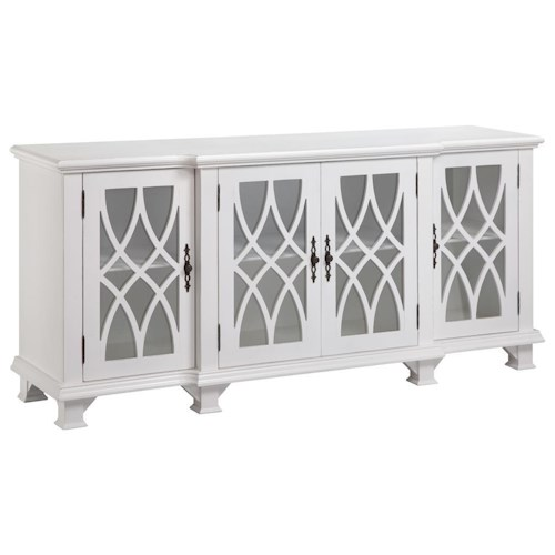 Morris Home Furnishings Cabinets 4 Door Cabinet