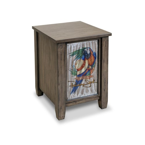 Morris Home Furnishings Cabinets High Tide 1-Door Cabinet