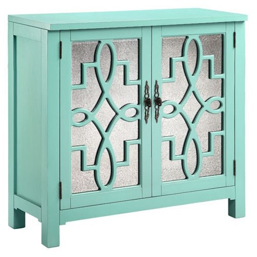 Morris Home Furnishings Cabinets 2-Door Laden Accent Cabinet