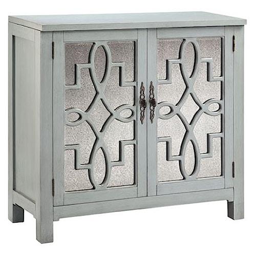 Morris Home Furnishings Cabinets 2-Door Laden Accent Cabinet