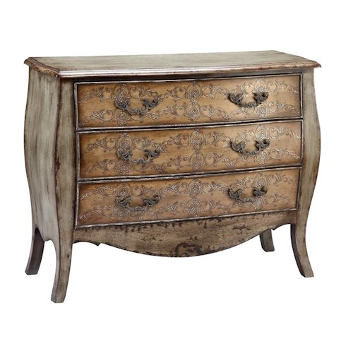 Stein World Chests Zahtila Three-Drawer Chest