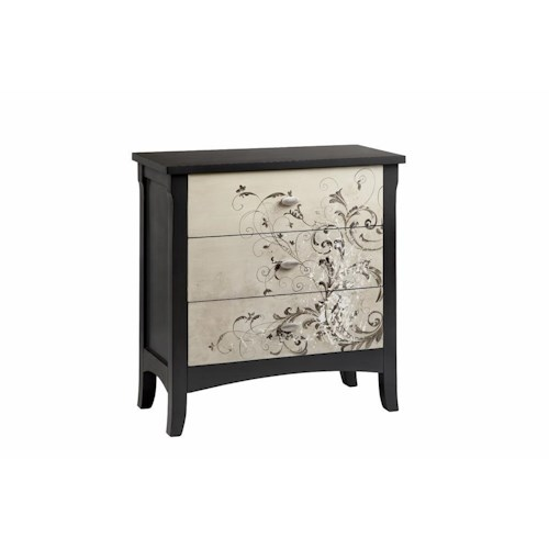 Morris Home Furnishings Chests 3-Drawer Accent Chest