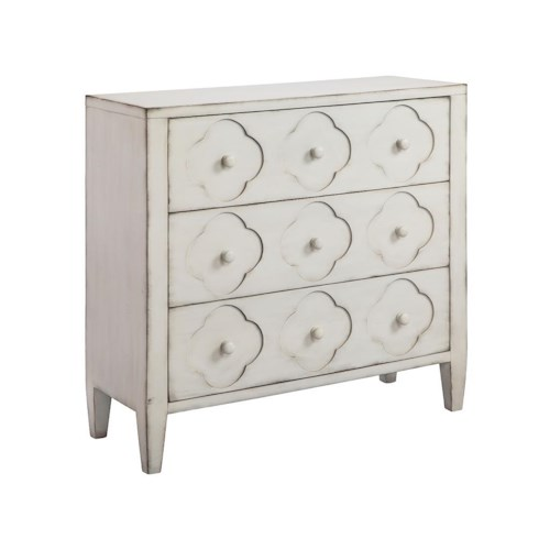 Morris Home Furnishings Chests 3-Drawer Chest