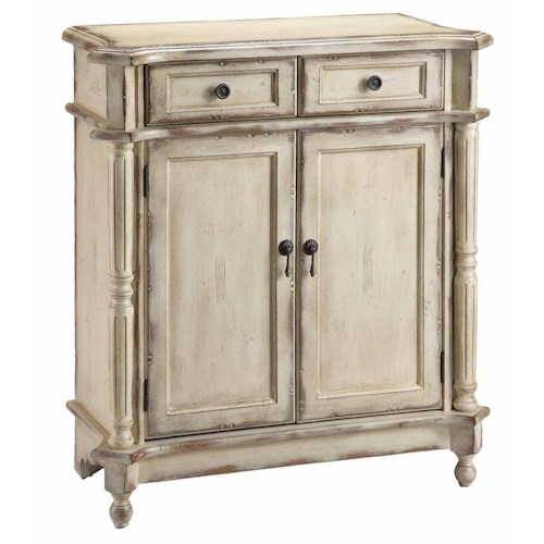 Morris Home Furnishings Chests Accent Chest w/ 2 Doors and Drawers