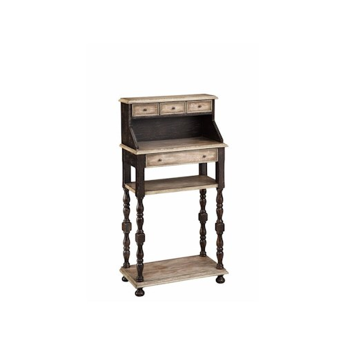Morris Home Furnishings Desks Writing Desk with 4 Drawers