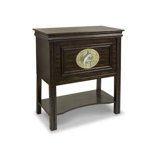Morris Home Furnishings Dining High Tide Storage Bar