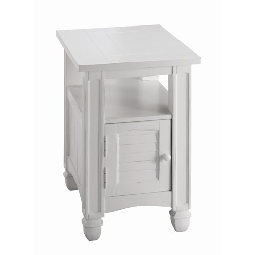 Stein World Casual - Nantucket Chairside Table with Door