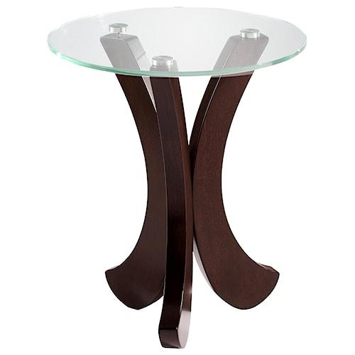 Morris Home Furnishings Urban - Nassua Chairside Table