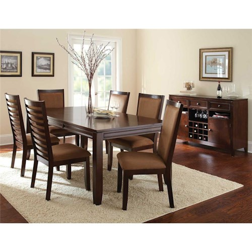 Steve Silver Cornell 8Pc Dining Room