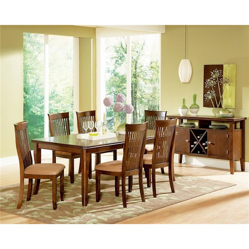 Steve Silver Montreal 8Pc Dinette