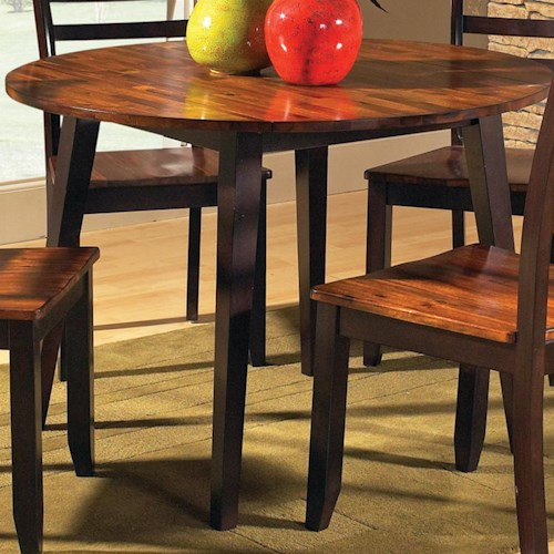 Morris Home Furnishings Abaco Solid Acacia Top 42