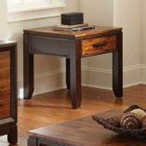 Morris Home Furnishings Abaco End Table with Drawer