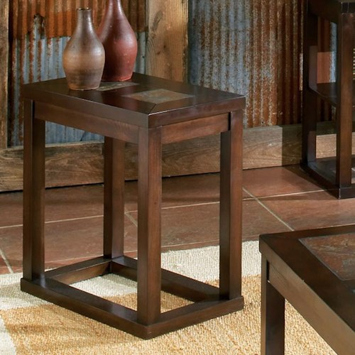 Vendor 3985 Alberto Chairside End Table