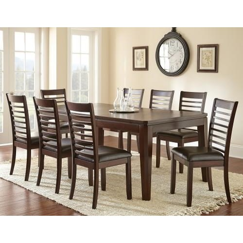 Steve Silver Allison Dining Table & 4 Side Chairs