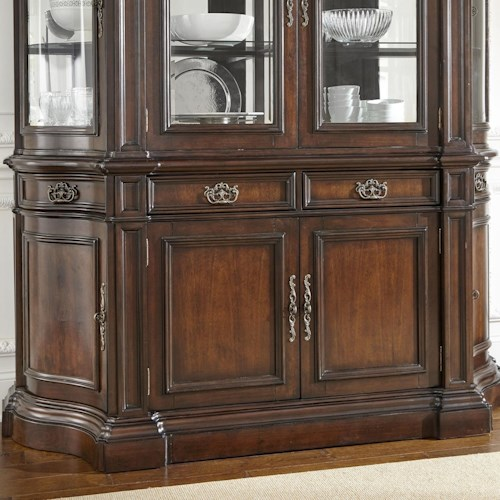 Steve Silver Angelina Traditional Buffet with with Felt-Lined Drawers