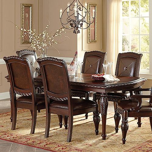 Morris Home Furnishings Antoinette Rectangular Dining Table