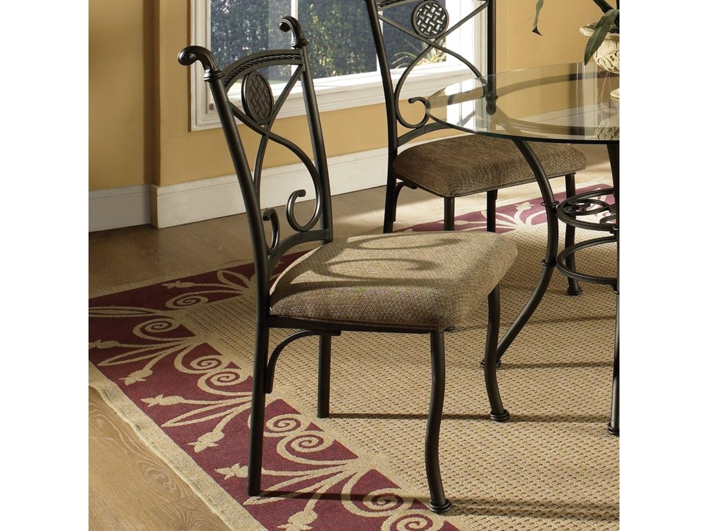 Set Includes Four Side Chairs