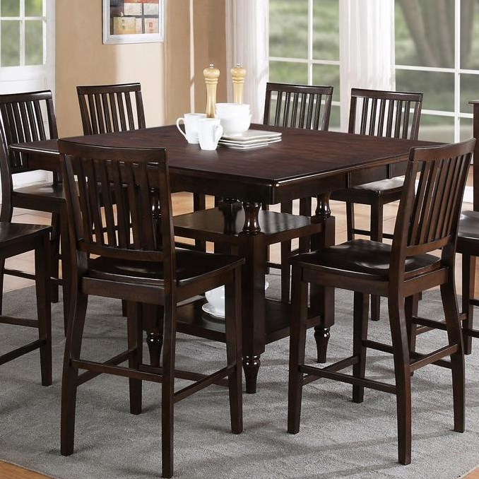 Set Includes Counter Height Storage Table
