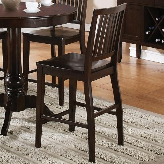 Set Includes Eight Counter Height Chairs