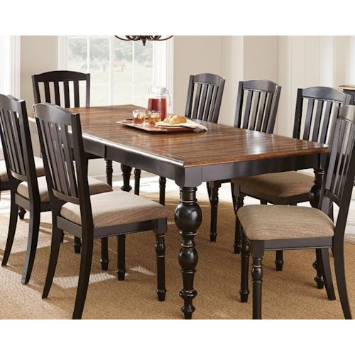 Morris Home Furnishings Carrolton Dining Table with 24