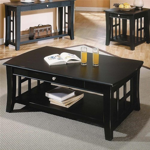 Steve Silver Cassidy  Cocktail Table with 1 Drawer