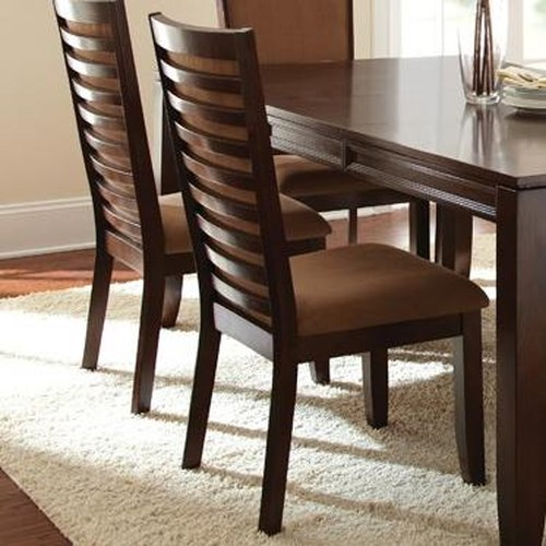 Morris Home Furnishings Cornell Formal Ladder Back Dining Side Chair