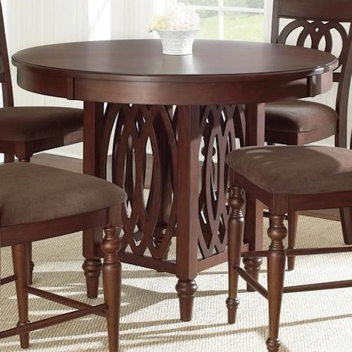 Morris Home Furnishings Dolly Counter Height Round Table