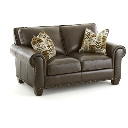 Steve Silver Escher Transitional Loveseat with Button Tufting