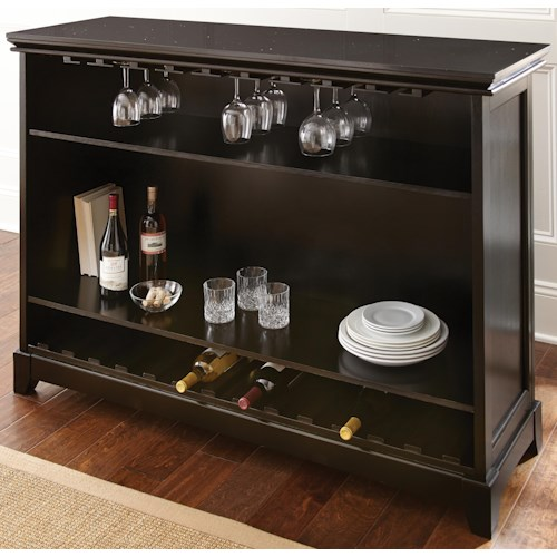 Steve Silver Garcia Bar Unit with Stone Top