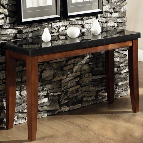 Morris Home Furnishings Granite Bello Granite Top Sofa Table
