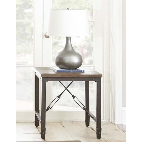 Morris Home Furnishings Jersey End Table