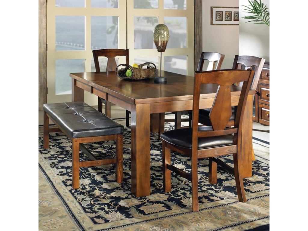 Shown as part of table set