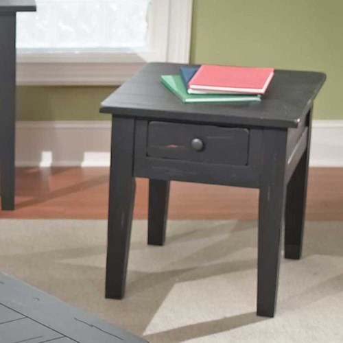 Morris Home Furnishings Liberty Casual 1-Drawer End Table