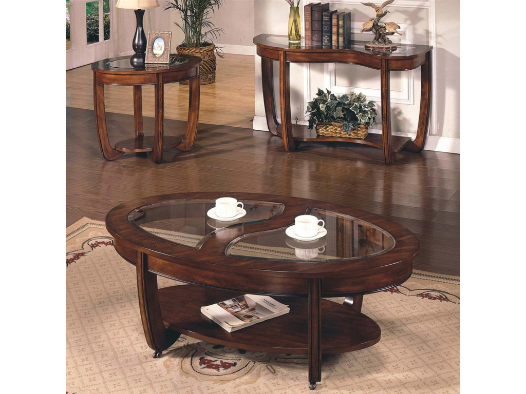 Shown with End & Sofa Table