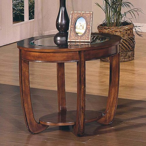 Steve Silver London  Round End Table