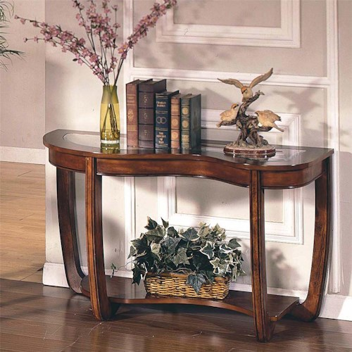 Morris Home Furnishings London  Sofa Table with 1 Shelf