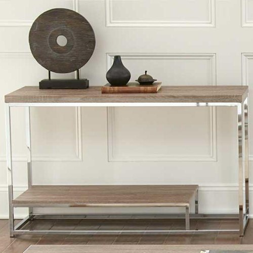 Steve Silver Lucia Sofa Table with Shelf