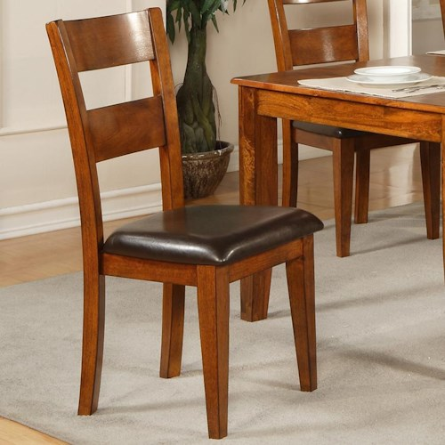 Morris Home Furnishings Mango Ladder Back Side Chair