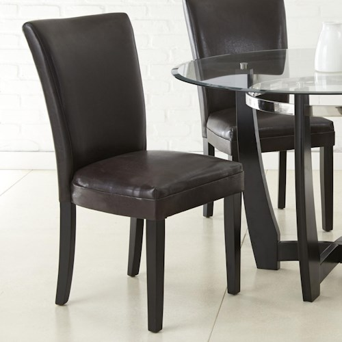 Vendor 3985 Matinee Bonded Leather Side Chair