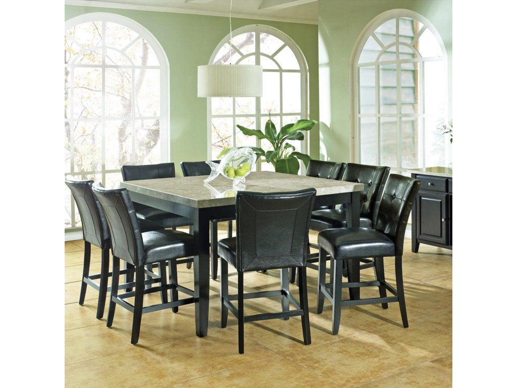 Counter Stool with Gathering Table
