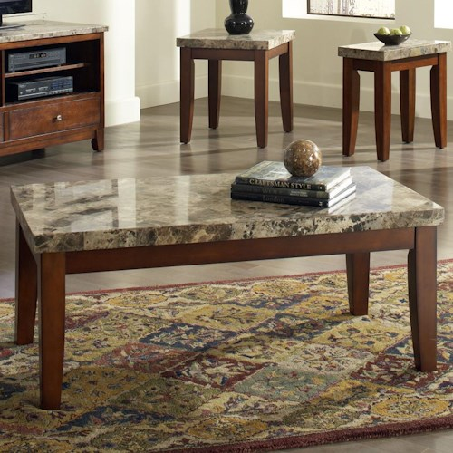 Morris Home Furnishings Montibello Cocktail Table