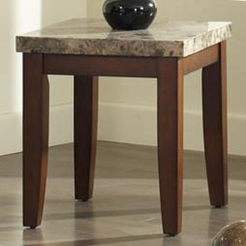 Morris Home Furnishings Montibello Rectangular End Table
