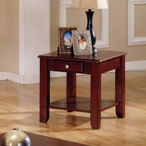 Morris Home Furnishings Nelson End Table with 1 Drawer