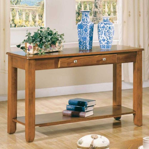 Vendor 3985 Nelson Sofa Table with 1 Drawer