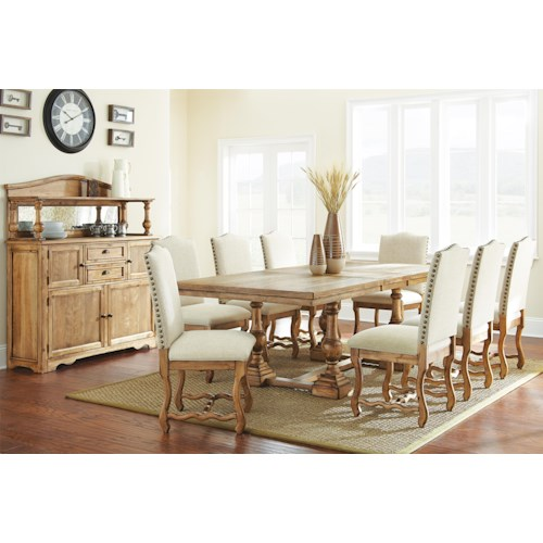 Morris Home Furnishings Plymouth Casual Dining Room Group