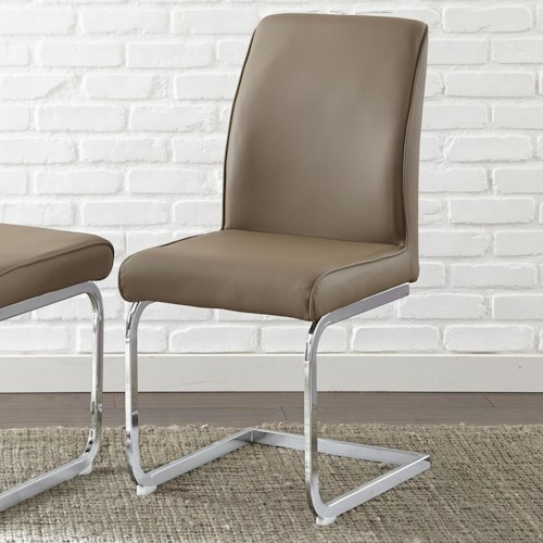 Morris Home Furnishings Scarlett Breuer-Style Upholstered Side Chair
