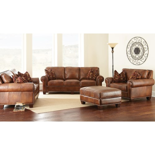 Morris Home Furnishings Silverado Stationary Living Room Group