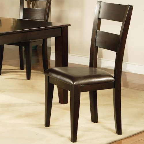 Morris Home Furnishings Victoria  Victoria Ladder Back Dining Side Chair